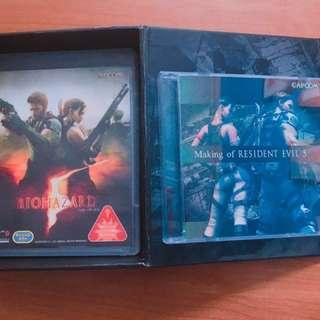 Orig  Resident Evil 5 Lumited edition PS3 Collectibles