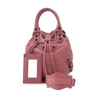 9cd4ef2e56 Authentic Balenciaga Mini Pompon (Rose Bruyere)