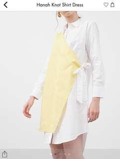 Hanah knit shirt dress