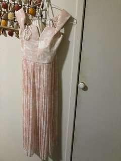 Pink size 6 dress