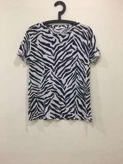 BN mango printed T-shirt