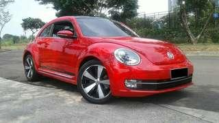 VW Beetle 1.4 At Turbo Pk 2014 Red