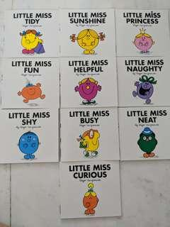 New Little Miss Books by Roger Hargreaves