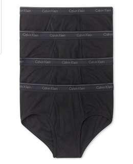 Calvin Klein Underwear 4 pieces set 100% real S - XL 28/10截止