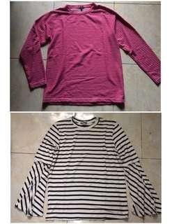(Bundling) stripes top