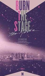 WTS Burn the stage :The movie (2 tickets)