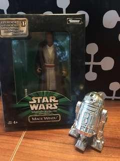 Star Wars Collection Mace Windu with R2D2