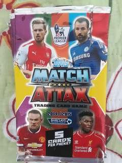 QYOP 2014/2015 Edition EPL Collectible Cards