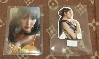 WTT Wendy to Seulgi and Joy standee to Irene standee