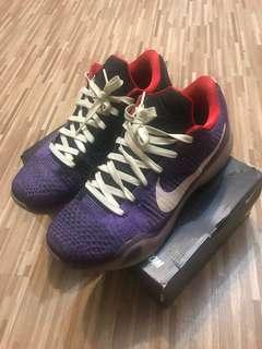 Nike Kobe x id 夜光底 us11.5