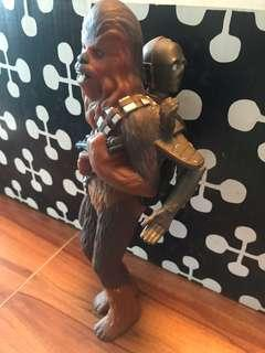 Star Wars Wookie and C3PO