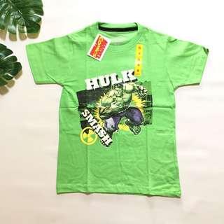 Kaos anak marvel superhero hulk