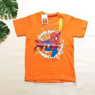 Kaos anak superhero marvel spiderman