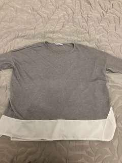 Zara stylish Grey Top