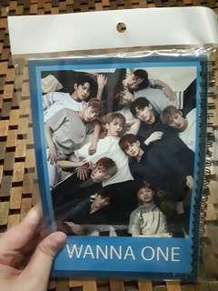 Wanna one notebook