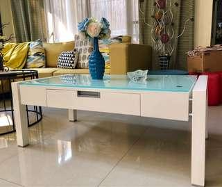 White center table bought in Japan