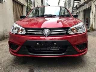 Proton Saga Baru. Basic RM1500 Layak Apply