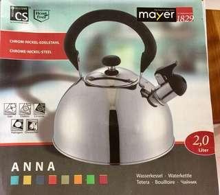 Water kettle 2 liter $5