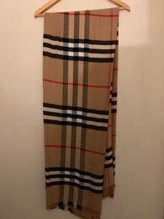 BURBERRY INSPIRED SCARF