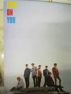 GOT7 Eyes On You Album Poster