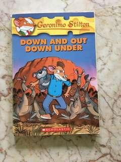 Geronimo Stilton- Down And Out Down Under