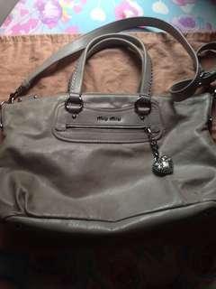 Authentic Mui Mui Sling Bag
