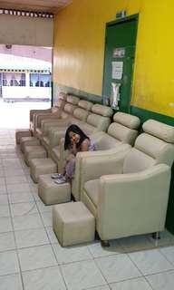 Spa Chair Set