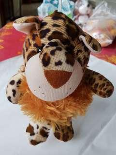 Soft toy (leopard)