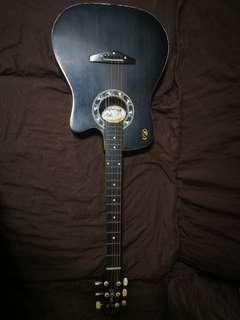 Acoustic Guitar Maroon (RJ)