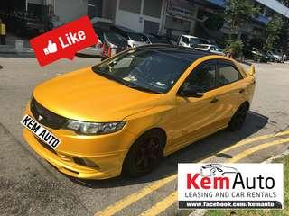 Rare KIA CERATO FORTE 1.6L Manual Supersprint Drift Racing Extractor LOUD FAST