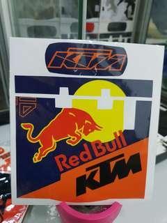 READY STOCK!! KTM IU Unit Decal & Stickers