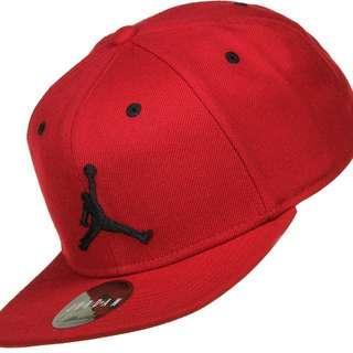 Jordan Jumpman Snapback Cap (Red)