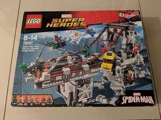 Lego 76057 Spider-Man : Web warriors ultimate bridge battle