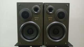 🚚 日本 山葉 yamaha nx s75 主喇叭 書架喇叭 床頭音響 6歐姆 馬來西亞製造