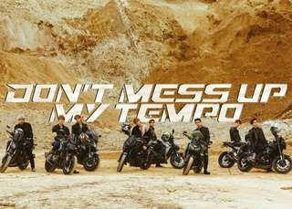 [MALAYSIA PREORDER] EXO - DON'T MESS UP MY TEMPO