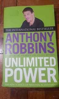 Tony Robbins Book Unlimited Power Self Help Psychology NLP Business Management