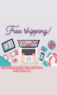 Free shipping this November! 💃👗👑