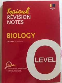 Biology Topical Revision Notes