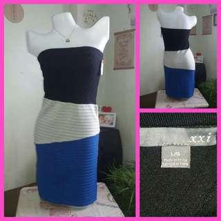 Forever21 Knitted Bodycon Tube Dress