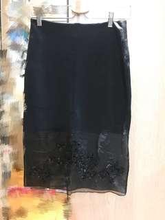 Sandro skirt (silk bottom)