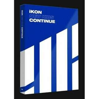[MALAYSIA PREORDER] iKON - NEW KIDS: CONTINUE