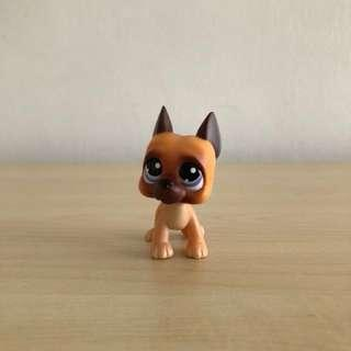 Littlest pet shop rare great dane