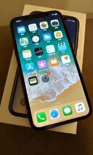 iPhone x 256 GB black Grey 太空灰 黑
