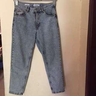 dicari Pull and Bear mom jeans