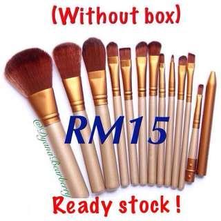 Readystock! Naked 3 brushes 12pcs (without box)