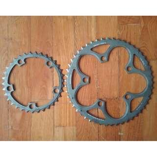 SRAM Force X-Glide Chainrings 50-34 110BCD