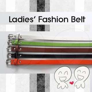 🌟 Ladies Fashionable Belt 🌟 5 colors to choose! 🌟