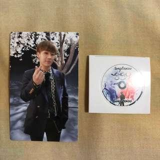 Infinite Top Seed Sunggyu Photocard