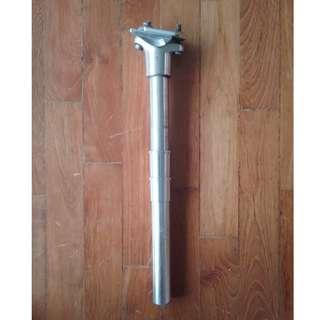 BTwin Aluminium Seatpost 23.4/25.4/27.2mm with Shims