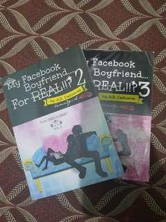 Fiction Book: My Facebook Boyfriend For Real Vol. 2&3